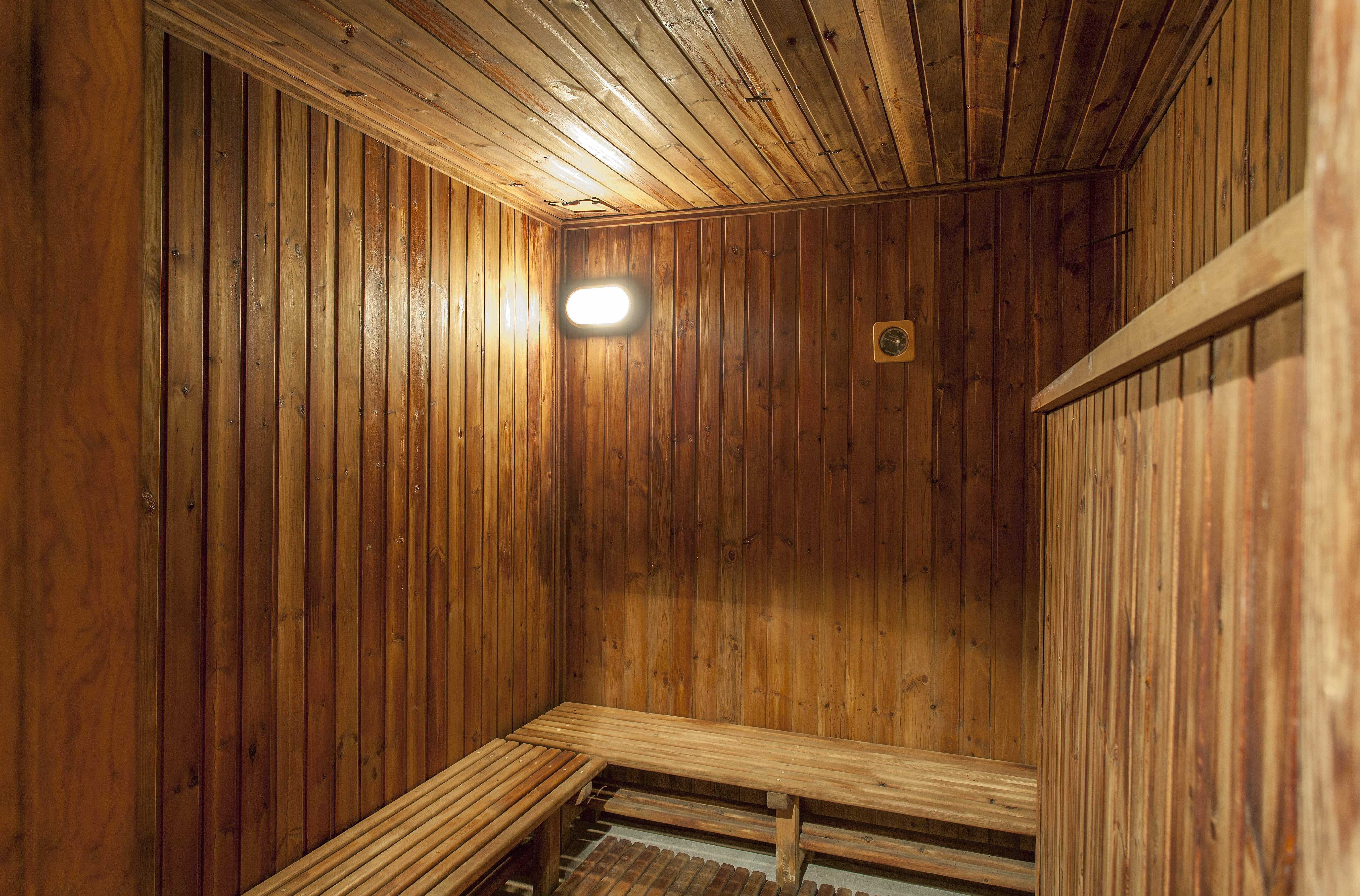 Spa with a sauna