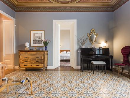 Impeccably restores mosaic-tiled flooring