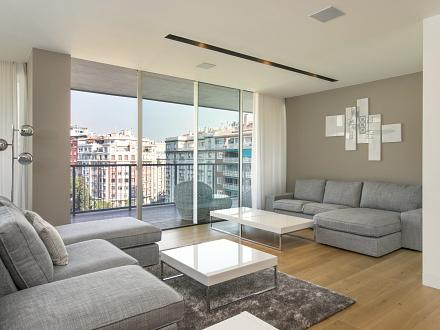 Bright, ample living area